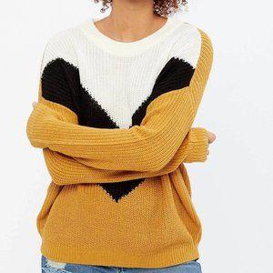 Bluenotes | Chevron Colour Block Crewneck Sweater